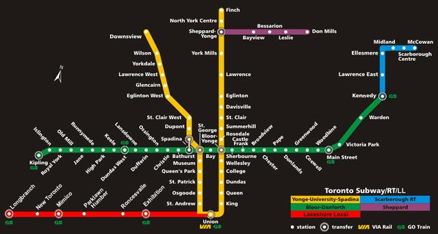 Ttc Subway Map Vs Actual.Ttc Fantasy Maps The Intrepid