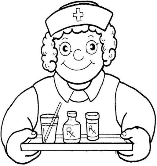 nurse coloring pages | HANIM MAHALI: Tabik berspring la kat Nurse