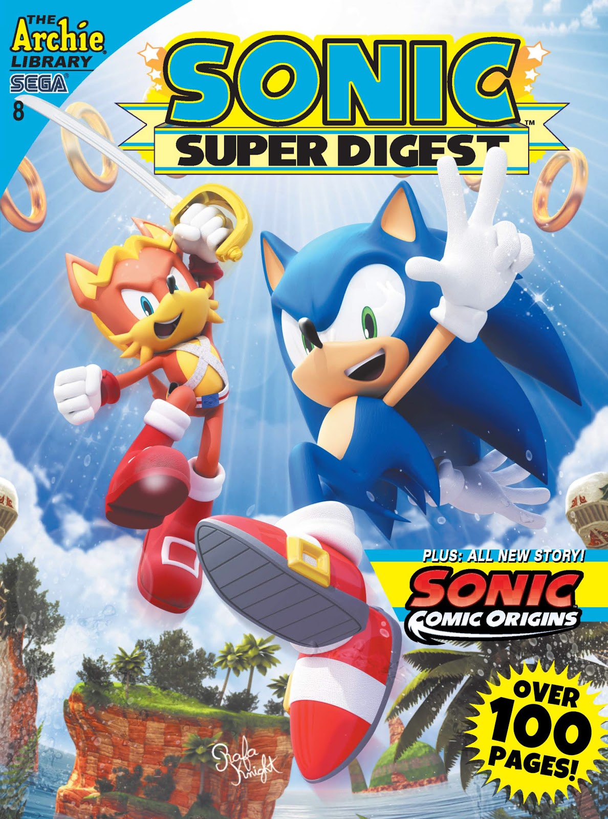 Sonic Super Digest 8 Page 1