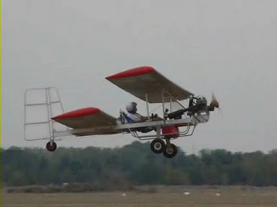 Tinworm-wings: Build your own sub-115kg aeroplane using ladders