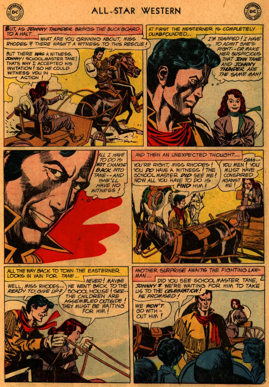 Read online All-Star Western (1951) comic -  Issue #107 - 9