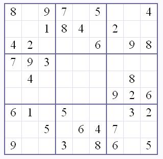 Tages Sudoku