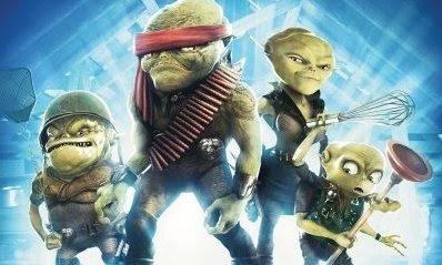 Aliens in the Attic & Aliens in the Attic Movie Poster : Teaser Trailer
