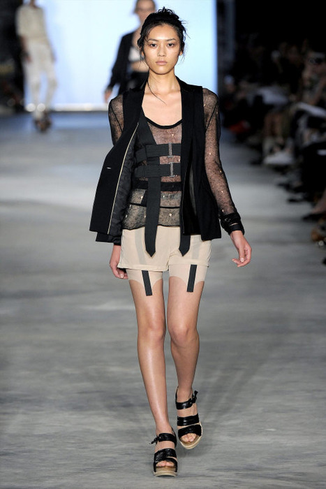Necessary Asian catwalk model think