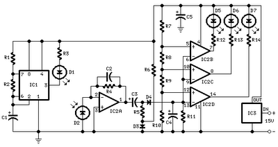 Car Parking Sensor Circuit Schematic Free With Explanation