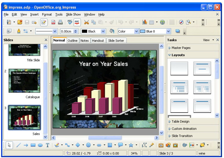 Free microsoft powerpoint alternative download for Openoffice impress templates free download