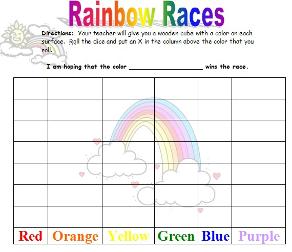 Rainbow Unit Theme Printables Lessons Ideas More