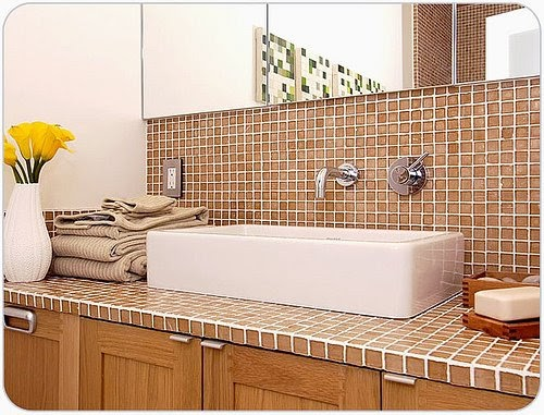 13 Tile Tips For Better Bathroom Tile: KITCHEN COLORS Guide!: Bathroom Tile