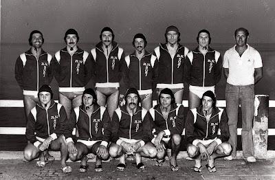 Rari Nantes Sori.Water Polo Legends 1976 The Team Of Rari Nantes Sori