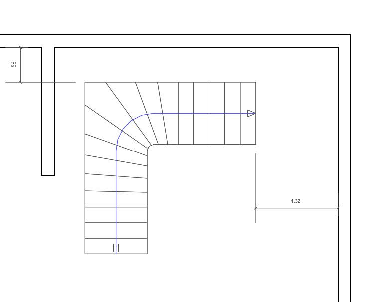 revitez balancez un escalier quart tournant. Black Bedroom Furniture Sets. Home Design Ideas