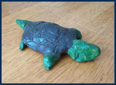 motherhood and hand made turtle