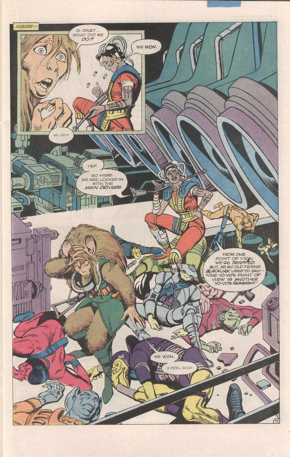 Read online Atari Force (1984) comic -  Issue #7 - 12