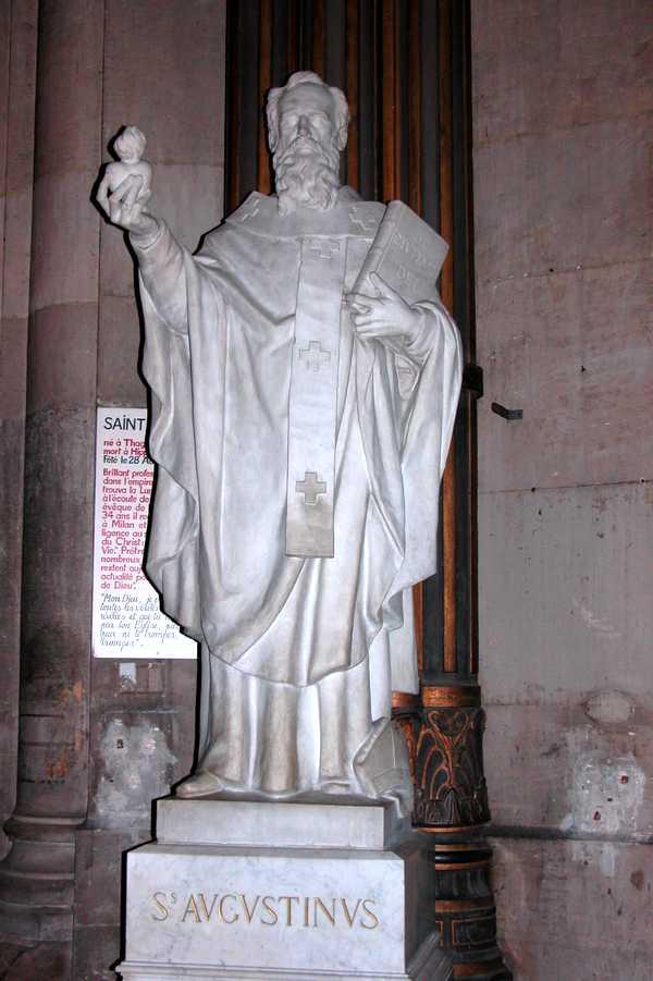 Iconographie Chrétienne Saint Augustin Dhippone évêque