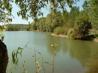 Carp fishing , its a bonus, its free . Or just enjoy the ambiance at Gone Fishin Aiguillon