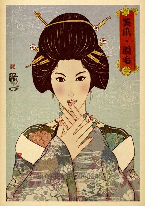 Resultado de imagen de japonesas tradicionales