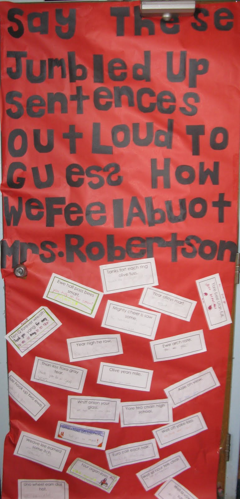 Everything In Between: Teacher Appreciation Door ...