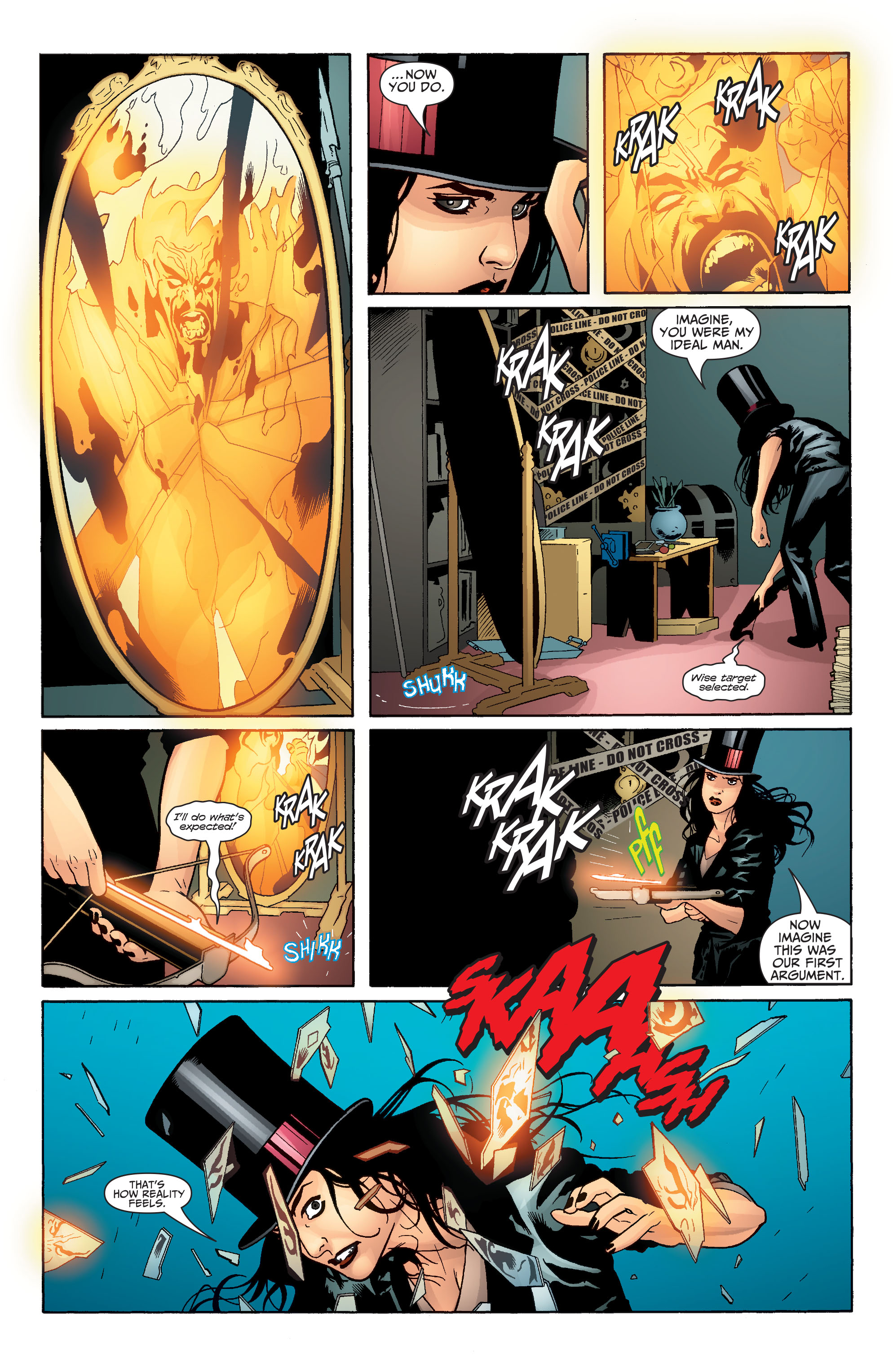 Read online Seven Soldiers: Zatanna comic -  Issue #2 - 21