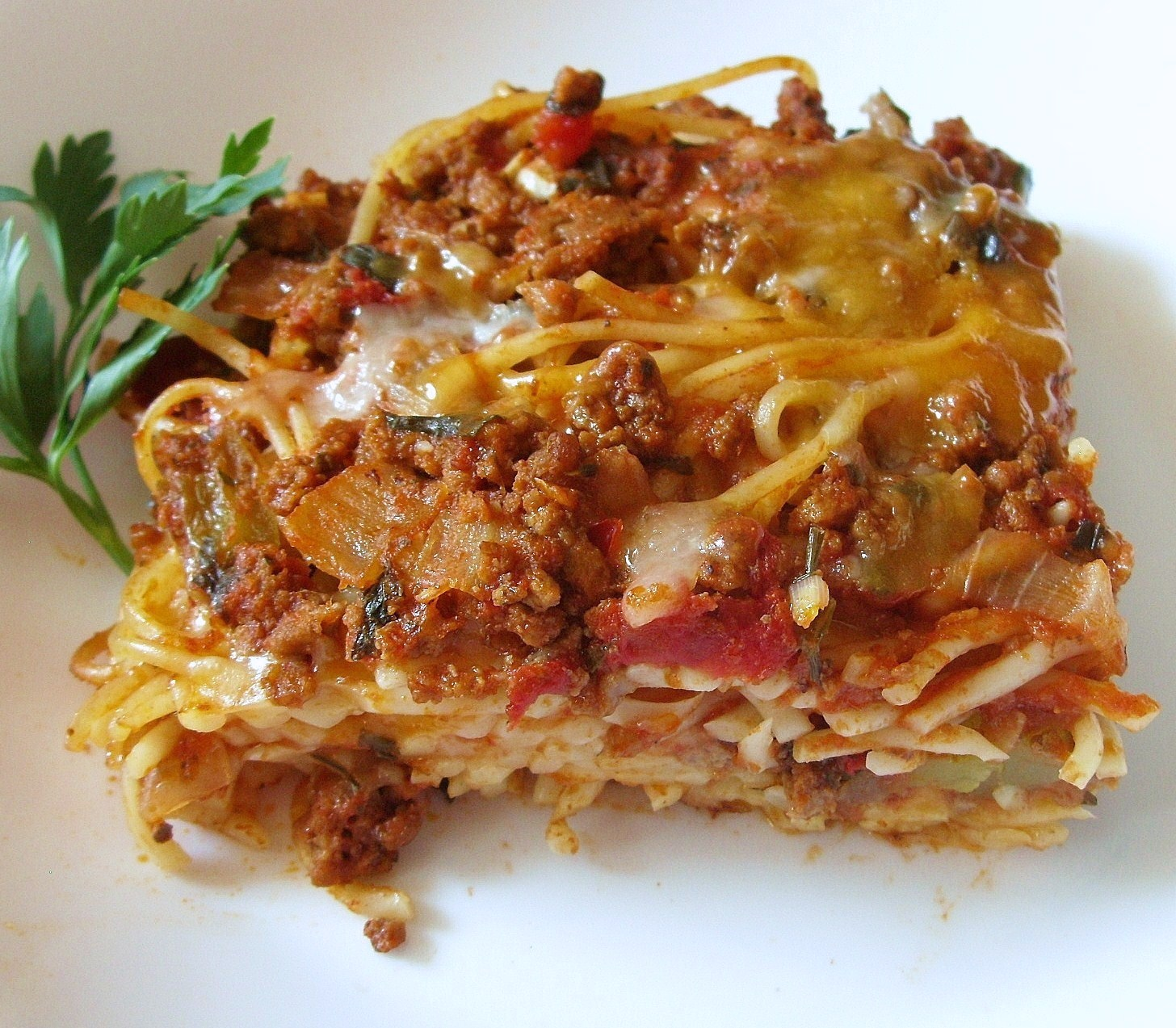 Sage Trifle: Paula Deen's Baked Spaghetti (A Re-post From