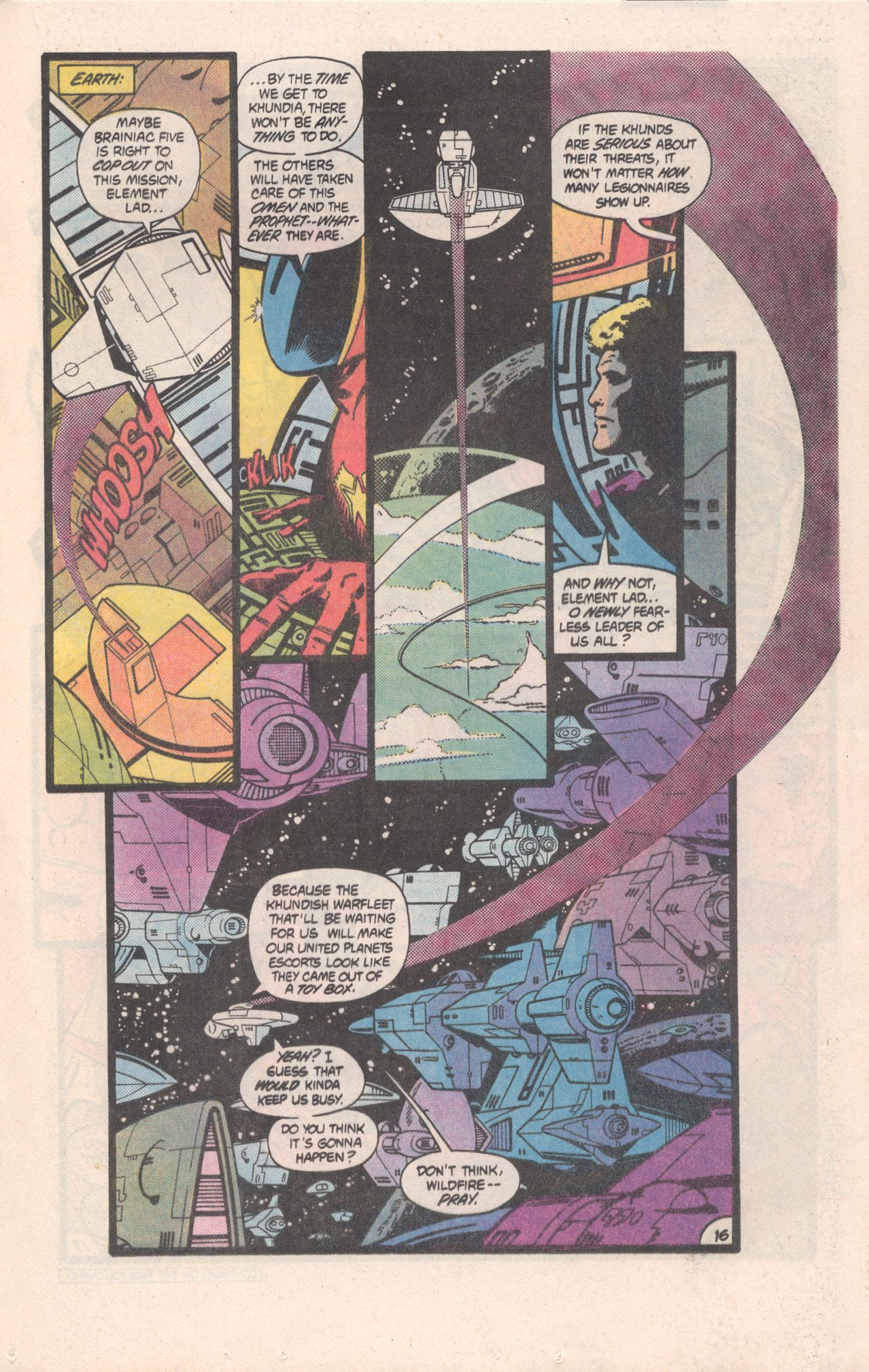 Legion of Super-Heroes (1980) 310 Page 16