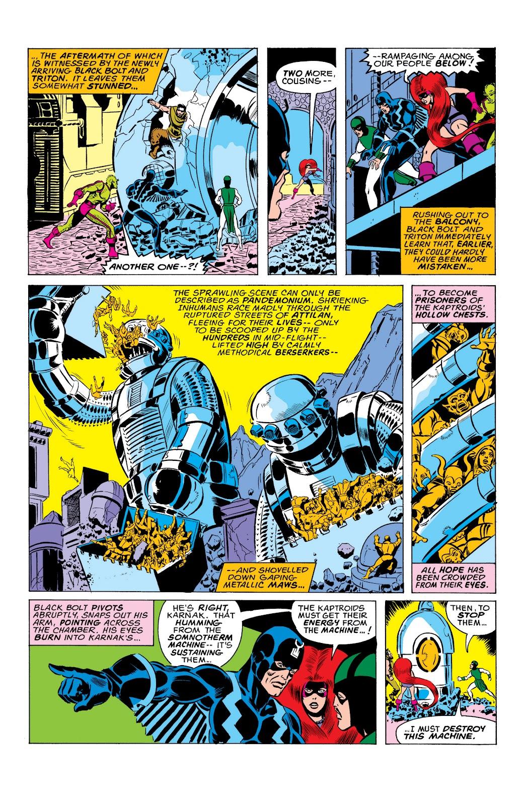Read online Marvel Masterworks: The Inhumans comic -  Issue # TPB 2 (Part 1) - 41