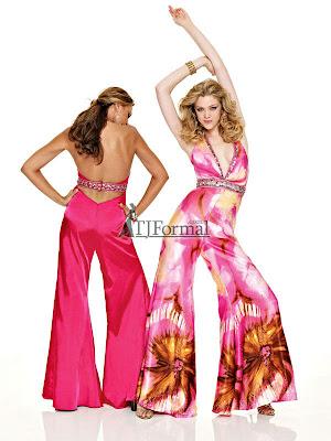 a137649814 Mori Lee 2010 Paparazzi Prom Dress 8500 - Seventies style pantsuit!
