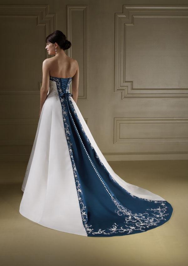 TJ Formal Dress Blog: Wear a two-toned wedding dress!