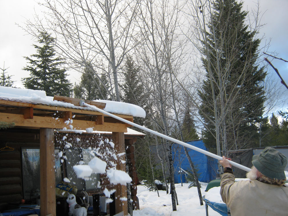 How To Make A Snow Roof Rake With Pvc 7 Steps Ehow
