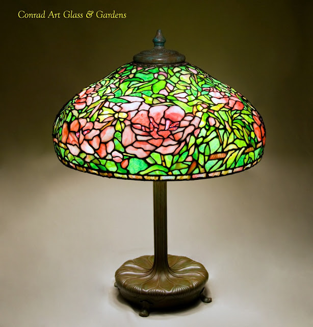Conrad Art Glass Amp Gardens My Stained Glass Lamp Work