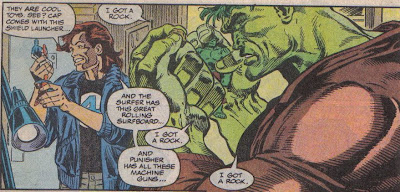 Wonder how the Hulk would feel if he came with an Annihilus wing or a piece of the Blob's ass?