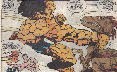 I know you can't see Walt's dinosaur signature here, I just like this panel.  So there.