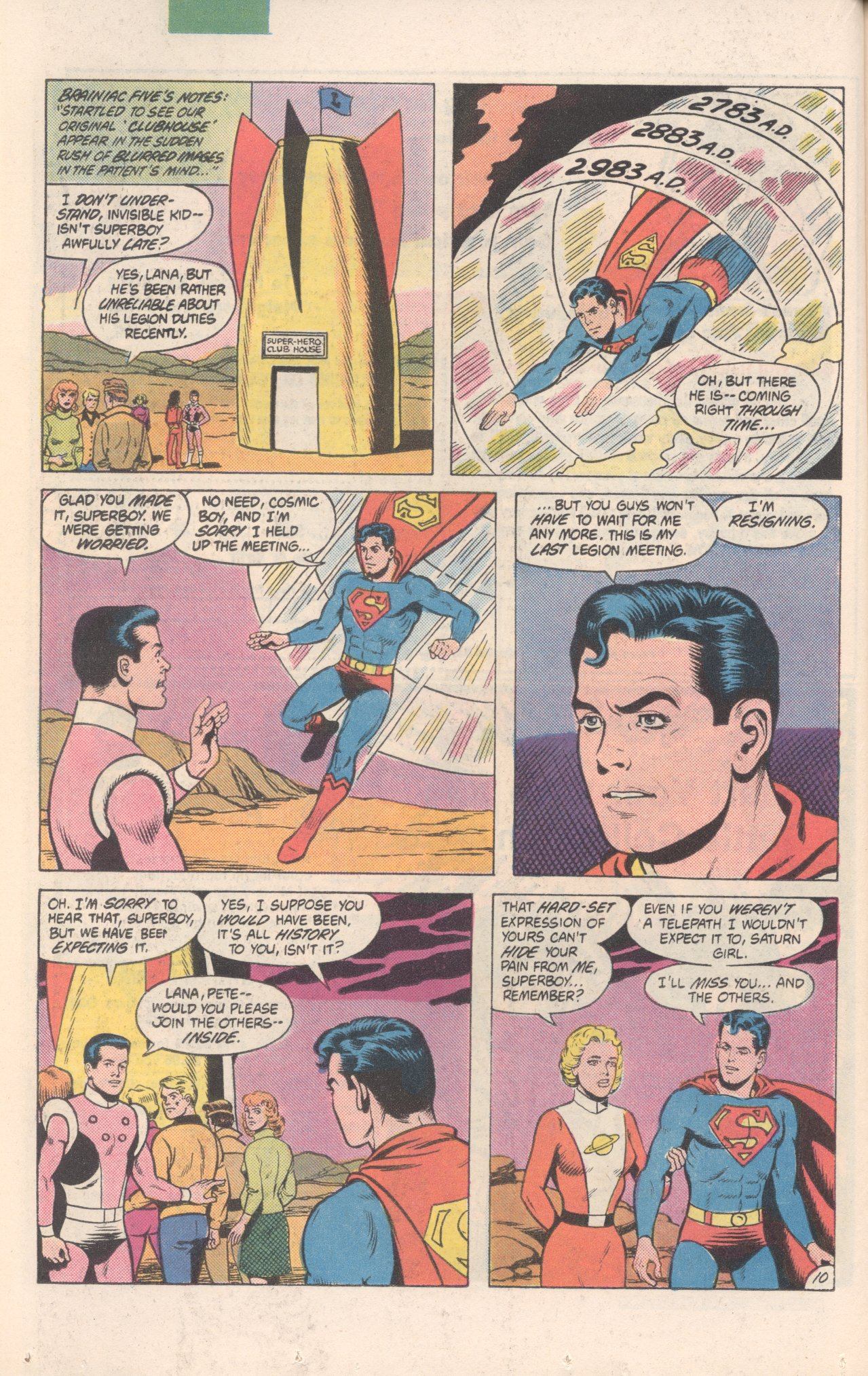 Legion of Super-Heroes (1980) 300 Page 10