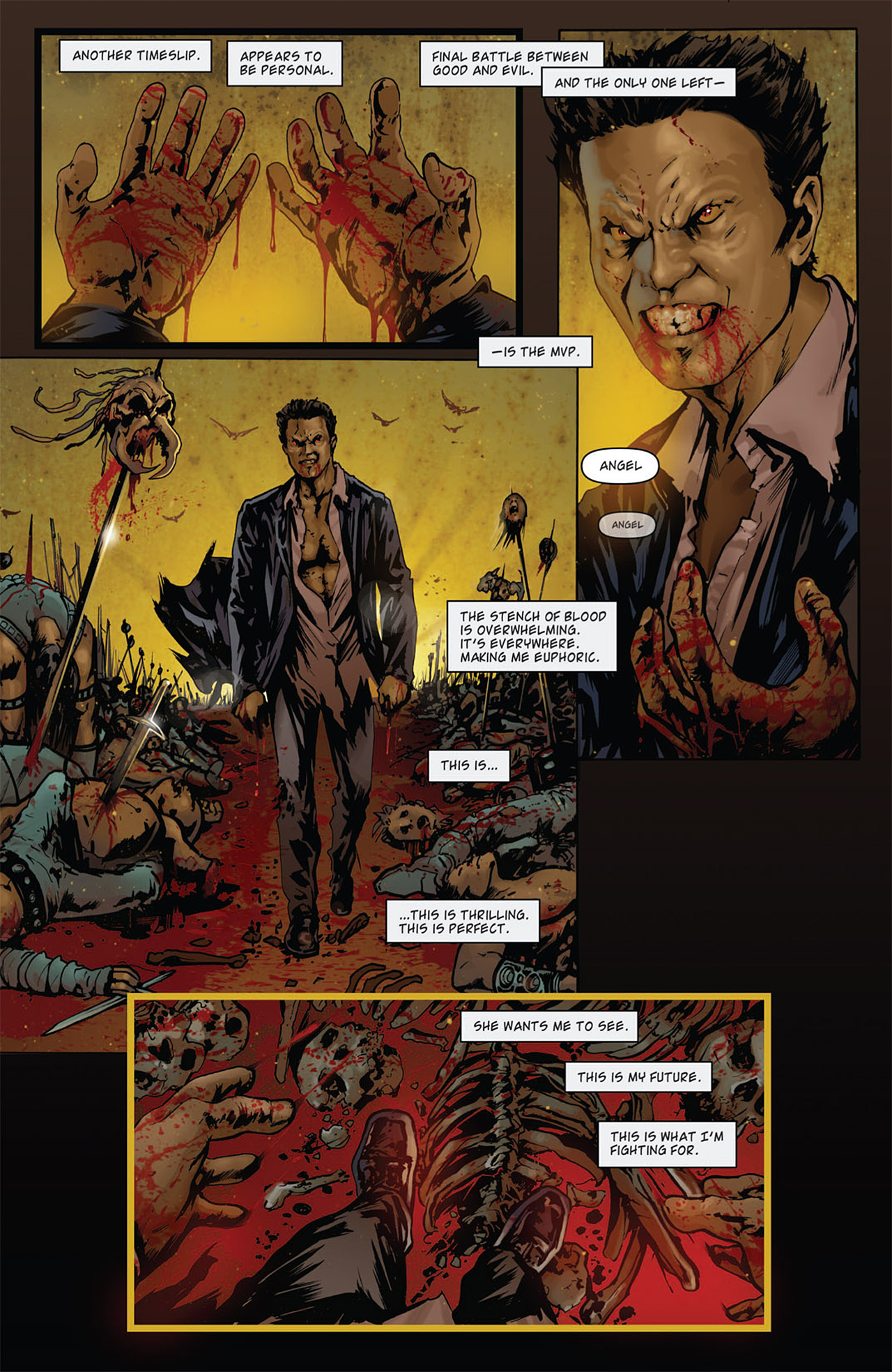 Read online Angel: After The Fall comic -  Issue #15 - 10