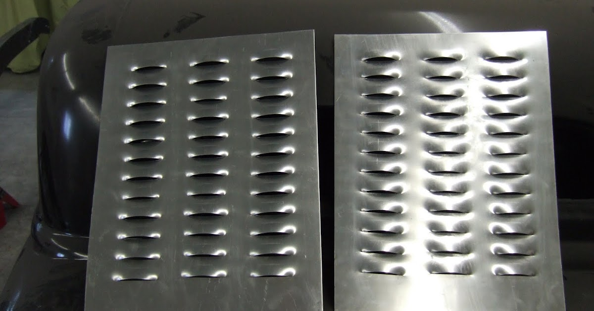 Build A Ford >> Candy's Hot Rod Supply: Louvered Panels and a '34 Ford Frame