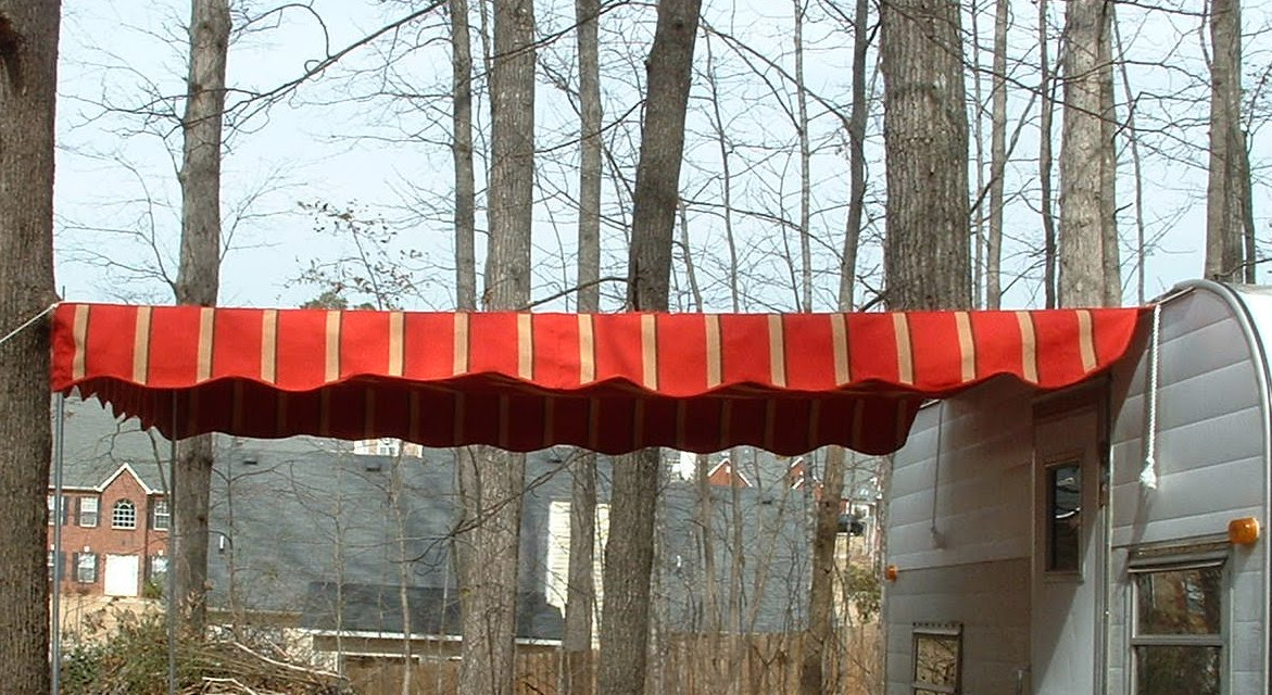 Vintage Awnings Custom Vintage Look Rope And Pole Awnings
