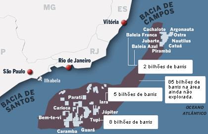 Resultado de imagem para pré sal brasil