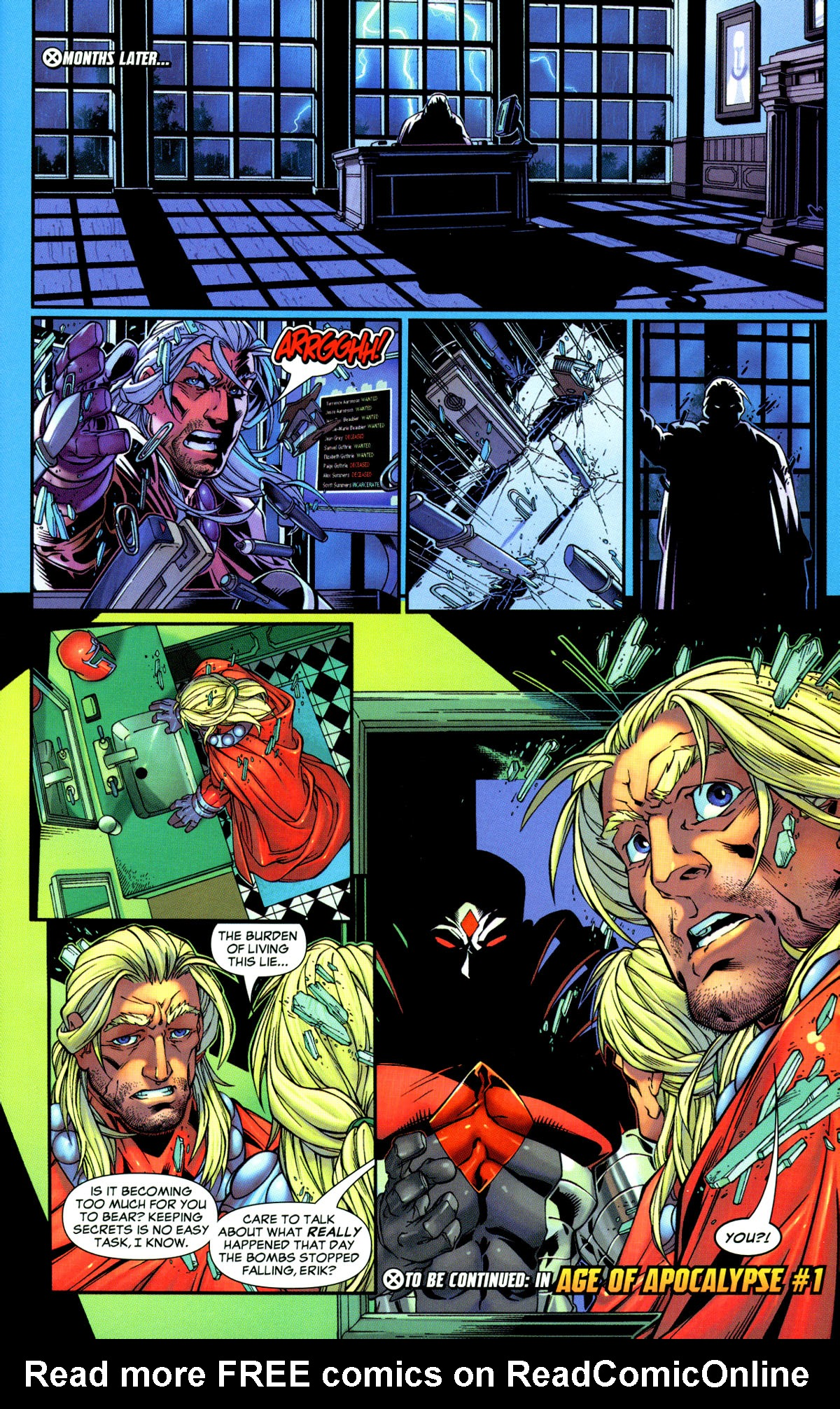 Read online X-Men: Age of Apocalypse One-Shot comic -  Issue # Full - 34