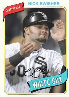 White Sox Cards Wsc Birth Years Nick Swisher