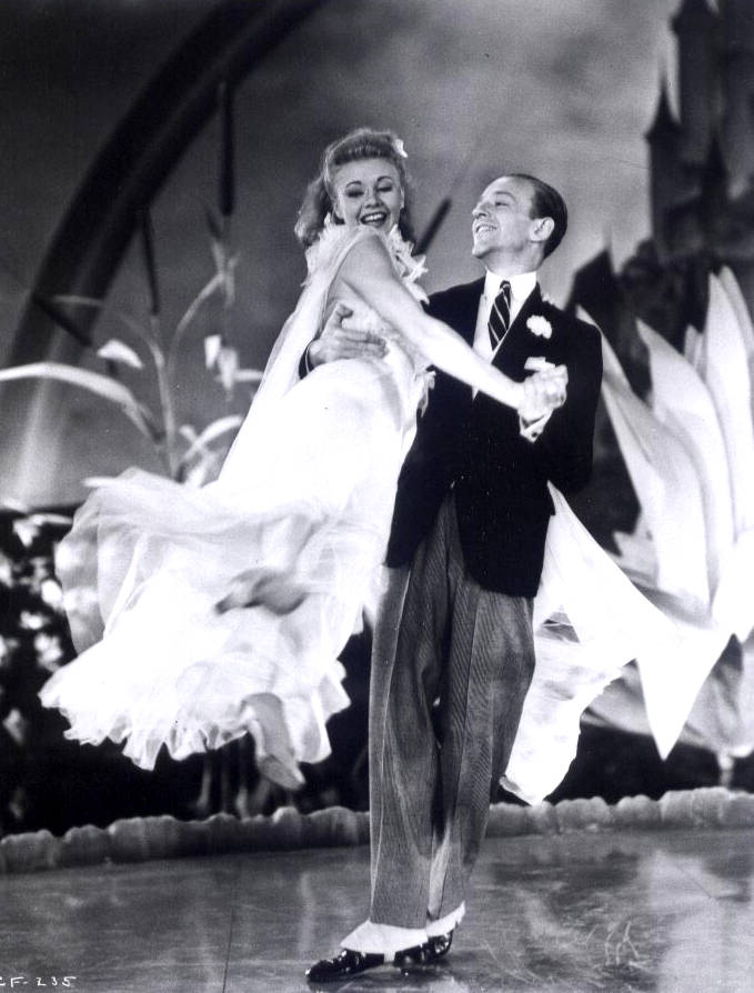Lost In The Movies Astaire And Rogers