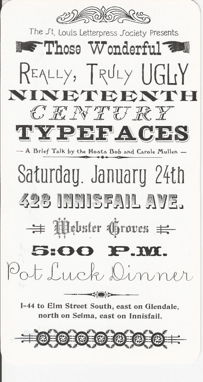 Lasting Impressions: Favorite Victorian Typefaces