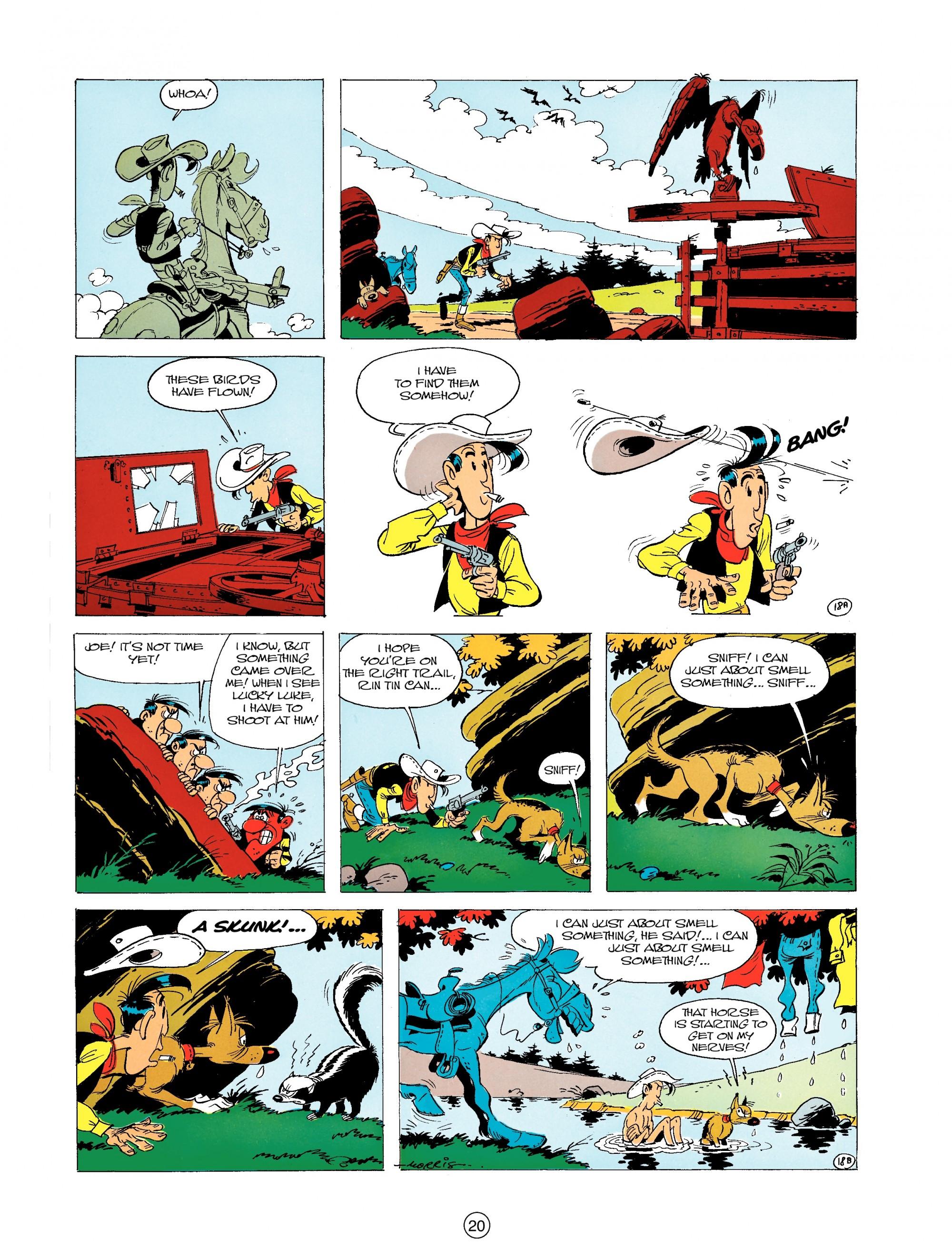 Read online A Lucky Luke Adventure comic -  Issue #19 - 20