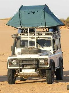 Pippo ricotti allestimento di un 4x4 per raid africani - Tenda da tetto oasis ...