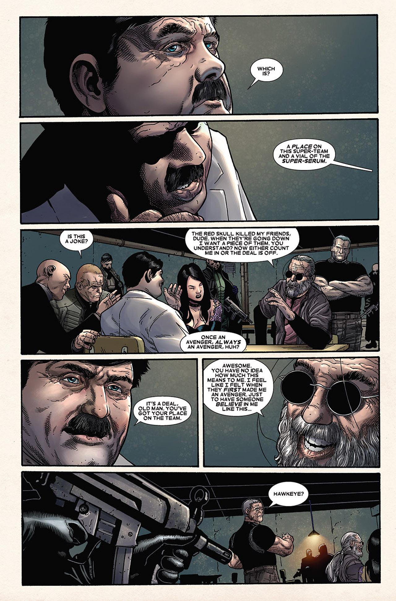 Read online Wolverine: Old Man Logan comic -  Issue # Full - 133
