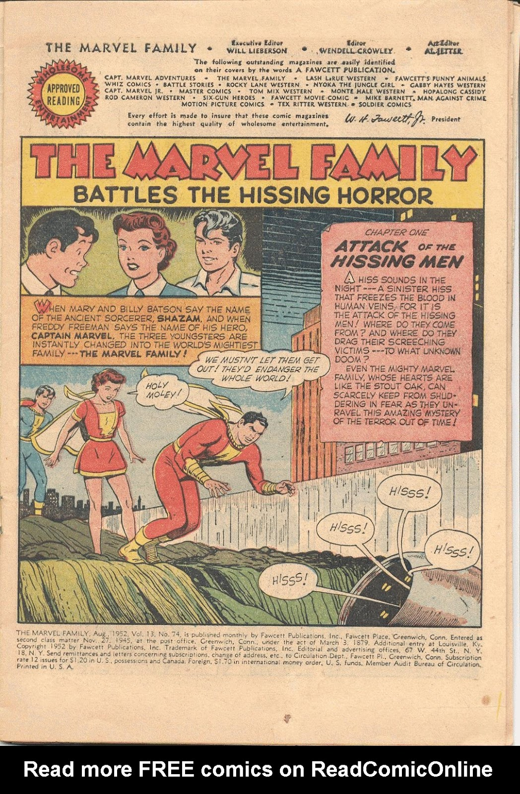 The Marvel Family issue 74 - Page 3