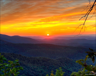 Blue Ridge Auto >> Bruce Wise Photos: Sunrise in Blowing Rock, NC