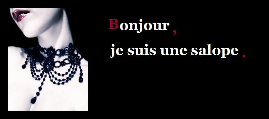 Join. agree Je suis une salope assured, that