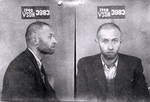 Early Mug Shot Of Israeli Prime Minister - Menachim Begin
