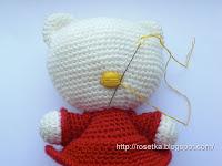 Мастер-класс по вязанию амигуруми Hello Kitty.