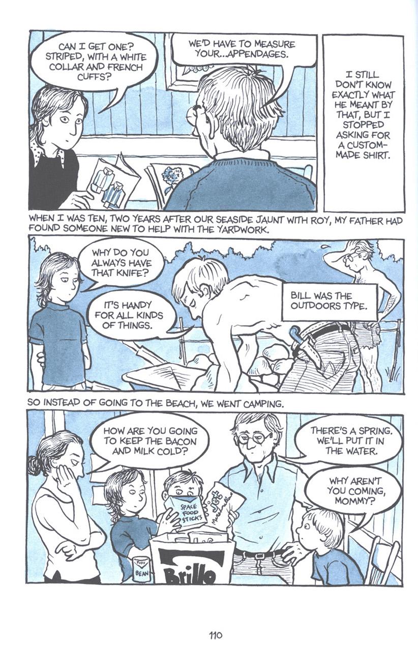 Read online Fun Home: A Family Tragicomic comic -  Issue # TPB - 116