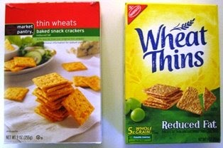 Penny Possibilities: Nabisco Wheat Thins vs  Target Thin Wheats