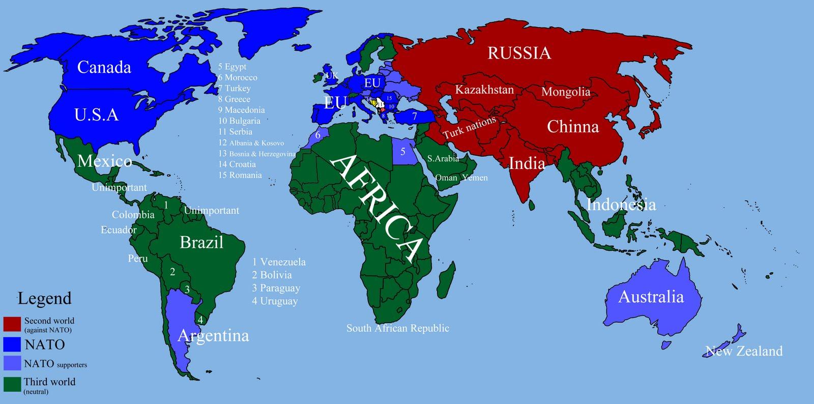 World War 3 Simulation Map Related Keywords - World War 3 ...